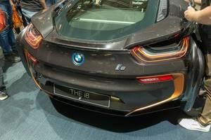 Hybridauto: Heck der limitierten BMW i8 Ultimate Sophisto Edition