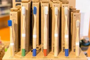 Hydrophil Zahnbürsten aus Bambusholz