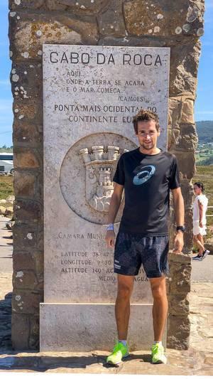 Ich am Cabo da Roca