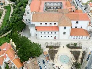 Igreja e Convento da Graça Drone Shot