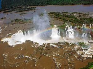 Iguazu Falls complex birdview / Iguazu Falls Komplex Birdview