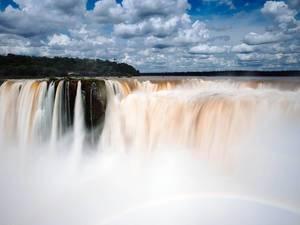Iguazu Falls – most powerful waterfall / Iguazu Falls - mächtigsten Wasserfall