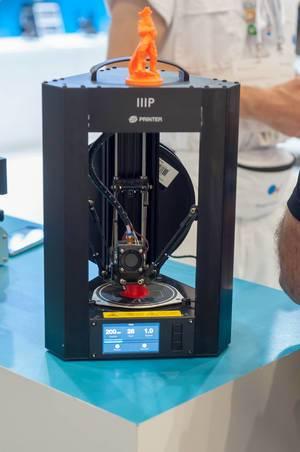 IIIP 3D-Drucker beim Drucken