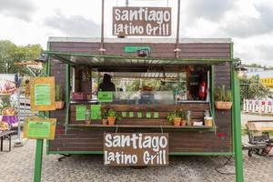 Imbissbude Santiago Latino Grill