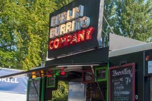 Imbissbude von Berlin Burrito Company