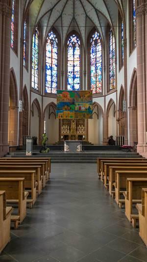 Innenraum der Agneskirche in Köln