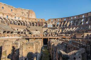 Inside of the Colosseum, Rome