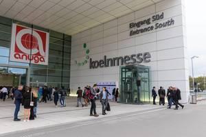 internationale Besucher bei der  Leitmesse für globale Ernährungswirtschaft in der koelnmesse