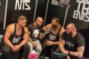 Interview mit starken Männern - FIBO Köln 2018