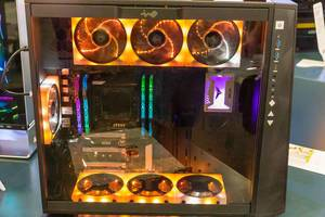 InWin aurora ego ae120 & Gaming Chassis 309 with vivid display, synchronized light and  glow2 software interface