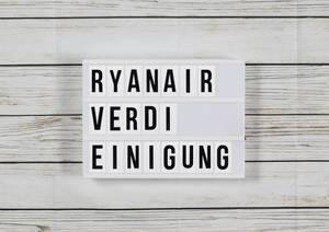 Irische Billig-Airline :Ryanair einigt sich bei Tarifverhandlungen mit Verdi