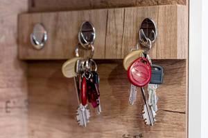Iron keys hanging on hook (Flip 2020)