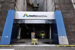 Itaipu Binacional Eingang