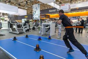 ivo TRAINER portable pull resistance system - FIBO Cologne 2018