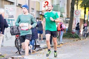 Jablonski Marek, nicht nummerierter Läufer - Köln Marathon 2017
