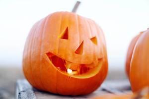 Jack O'Lantern für eine Halloweenparty
