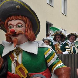 Jan von Werth am Rosenmontagszug 2012