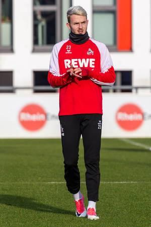 Jannes Horn beim Training nach dem Abstiegskampf