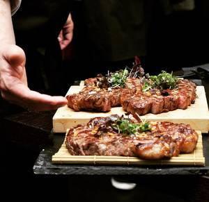 Japanese Wagyu Beef in a Restaurant