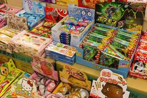 Japanische Süßigkeiten