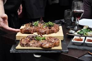 Japanisches Wagyu Beef und German Dry Aged