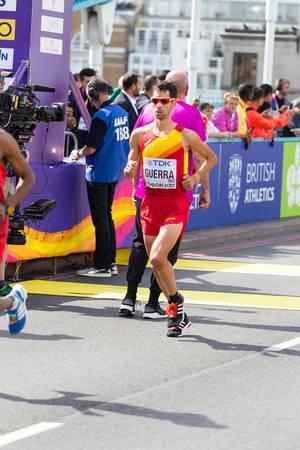Javier Guerra (Marathon Finale) bei den  IAAF Leichtathletik-Weltmeisterschaften 2017 in London
