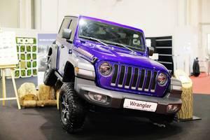 Jeep Wrangler at Bucharest Auto Show 2019, SAB
