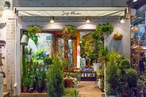 Jingu Garden: Flower Store