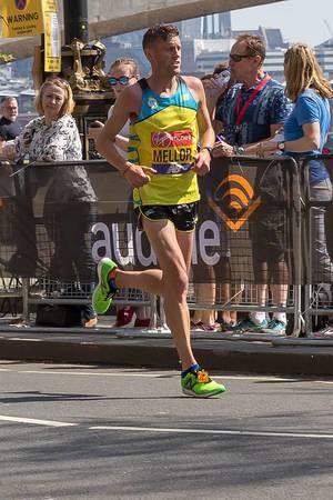 Jonny Mellor - London Marathon 2018
