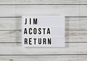 Judge orders Trump administration to restore CNN reporter Jim Acosta
