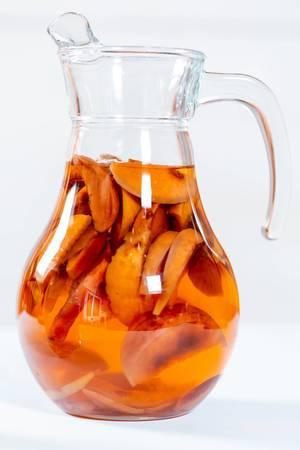 Jug dried fruits compote