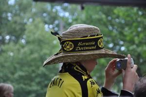 Junger BVB Fan