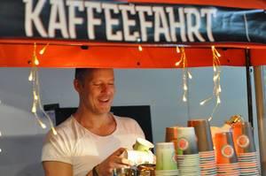 Kaffeefahrt Kaffee-Bar auf Street Food Festival
