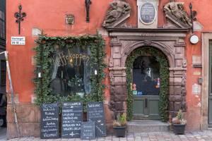 """Kaffeehaus """"Kaffekoppen"""" in der Altstadt von Stockholm"""