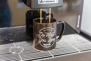 Kaffeepause im WeWork - Coworking Space in Köln