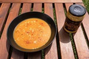 Karotten-Chili-Suppe aus dem dm-Drogeriemarkt