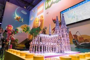 Kathedrale aus Lego - Gamescom 2017, Köln