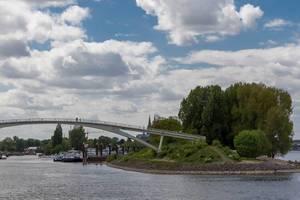 Katzenbuckelbrücke in Köln