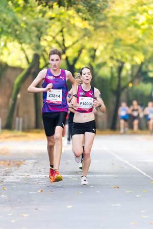 Kaufmann Justus, Heimann Lisa – Köln Marathon 2017