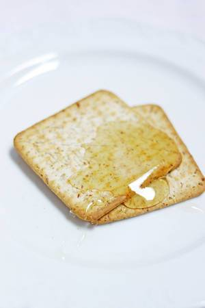 Kekse mit Honig