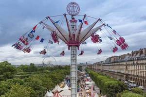 Kettenkarussell auf Jardin des Tuileries