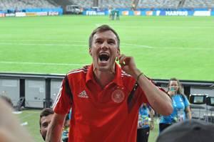 Kevin Großkreutz nach dem 7:1 Siegen gegen Brasilien bei der FIFA WM 2014
