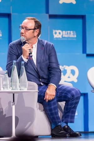 Kevin Spacey im Anzug