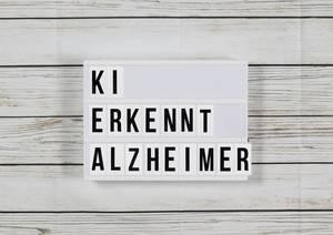 KI erkennt Alzheimer schon Jahre vor einer Diagnose