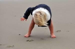 Kind im Strand