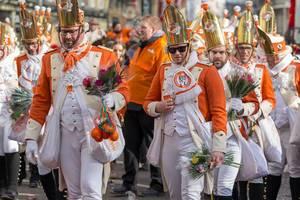 KKG Nippeser beim Rosenmontagszug - Kölner Karneval 2018