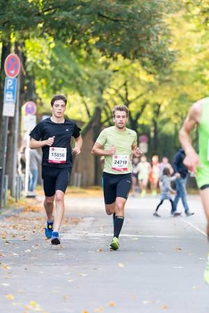 Klein Jakob, Metzger Lukas - Köln Marathon 2017