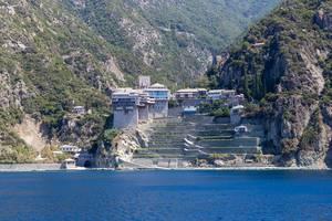 Kloster Dionysiou auf Athos, Griechenland