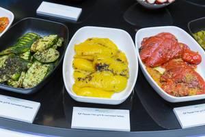 Kochtiefkühlkost - gelbes Paprika filet mariniert