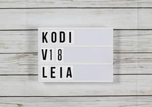 Kodi v18 Leia: Fünfte und letzte Beta startet